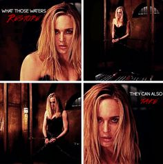 """4x03 Restoration - """"You're feeling it, aren't you? The bloodlust."""" - Sara Lance; Arrow"""