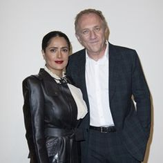 Salma Hayek and celebs attend a presentation of the Pinault Collection (310675)