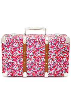 Love this mini liberty print suitcase - perfect for toiletries!