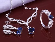 Win a Sterling Silver Necklace, Earrings and Ring Set!