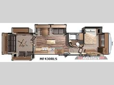 New 2016 Highland Ridge RV Mesa Ridge MF430RLS Fifth Wheel at US Adventure RV | Davenport, IA | #HRFW6036 $55,506