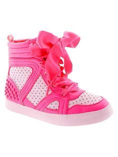 Pink hightops!