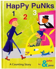 HAPPY PUNKS 123 COUNTING STORY BOOK