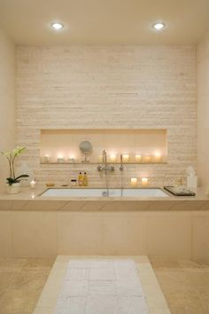 The dimensions of your bathroom is not the only thing that dictates the perceived as well as the actual size of the bathroom. The sanitary ware you choose is an obvious factor but it is also often the bathroom layout that holds the key for a spacious look. www.polesandblind... #interiordesign #bathrooms #bathroomdecor - Luxury Decor