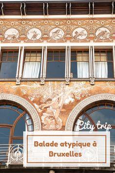 Une idée de balade atypique dans les quartier de Bruxelles. Découvrez la nature cachée dans les petits détails des édifices d'art nouveau. Bruges, Destinations D'europe, Art Nouveau Architecture, Voyage Europe, Brussels Belgium, Adventure Is Out There, Belle Epoque, European Travel, Doorway