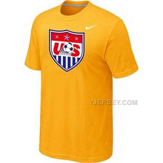 http://www.yjersey.com/nike-national-team-usa-big-tall-men-tshirt-yellow.html Only$27.00 #NIKE NATIONAL TEAM USA BIG & TALL MEN T-SHIRT YELLOW Free Shipping!