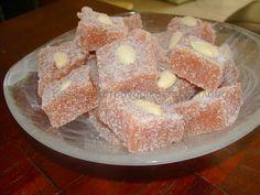 Kydonopasto (Quince fudge-like bites, Greek traditional) @ cretangastronomy.blogspot.gr