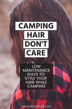 7 Easy Camping Hair Tips Easy ways to style your hair while camping. Low maintenance ways to wear yo Donut Bun Hairstyles, Side Bangs Hairstyles, Hairstyles For Round Faces, Diy Hairstyles, Thin Hair Styles For Women, Hair Styles 2016, Short Hair Styles, Medium Thin Hair, Short Thin Hair