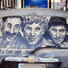 Dirty Car Artist – Yes, For Real!