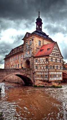 Old Town Hall, Bamberg, Germany - Little Venice Places Around The World, Travel Around The World, Around The Worlds, Visit Germany, Germany Travel, Places To Travel, Places To See, The Places Youll Go, Beautiful Buildings