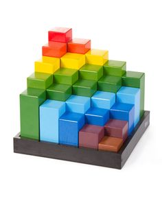 Qtoys rainbow blocks  www.qtoys.com.au