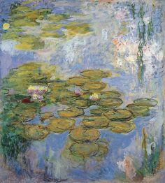 Water Lilies, 1916-19. Claude Monet