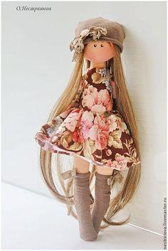 Diy Rag Dolls, Holiday Crochet Patterns, Clay Dolls, Doll Toys, Art Dolls, Doll Dress Patterns, Kawaii Doll, Sewing Toys, Fabric Dolls