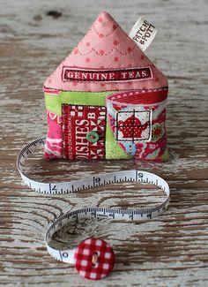 Tea House Tape Measure