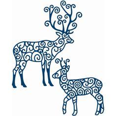 Tattered Lace Christmas Dies Reindeer   Hobbycraft