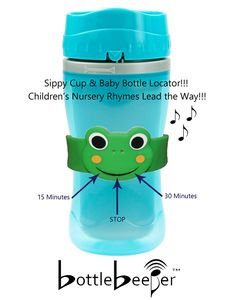 So SIMPLE & So HELPFUL! Find those lost sippy cups. Great Baby Shower Gifts.