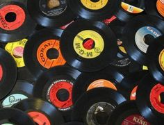 45 RPM Records Lot,