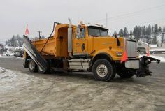 Western Star Snow Plow Truck