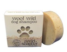 handmade organic natural dog shampoo bar