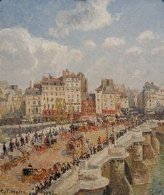 Le Pont-Neuf (1902) by Camille Pissarro (1830-1903)