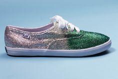 DIY glitter sneakers - Teen Vogue