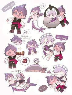Shark Cookies, Man Cookies, Cute Cookies, Little Dolly, Strawberry Cookies, Cute Shark, Cookie Run, Anime Fnaf, Just Run