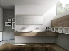 Waschtischunterschrank mit Aufbewahrung MY TIME 07 - IdeaGroup