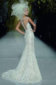 Barcelona Bridal Week: Atelier Pronovias Spring 2014 Collection