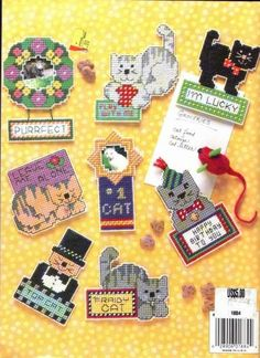 Cat Chat Magnets 8/8