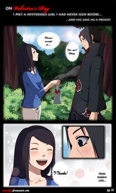 valentine day kiss anime