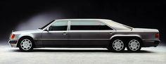 Mercedes Benz W124   Limousine