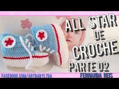 Tenis All Star de Croche parte 2 - YouTube