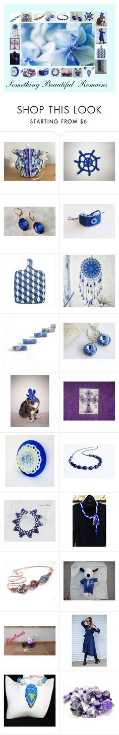 Something Beautiful Remains: Great Gift Ideas in Blue by paulinemcewen on Polyvore featuring Lazuli, rustic, vintage and country