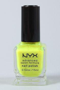 NYX Advanced Formula Nail Polish #URBANOG