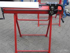 Biegemaschine 1020mm/0.8mm mit Wulstmaschine und Rollenschere von der Firma Prod-Masz