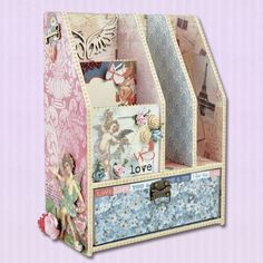 Look what I found on #blitsy! Kaisercraft Beyond the Page Storage I MUST MAKE!! :)