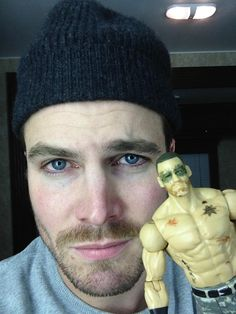 Stephen Amell and the Arrow action figure