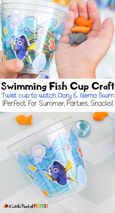 Swimming Fish Cup Cr