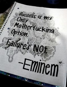Eminem lyrics new anthem for getting through school                                                                                                                                                                                 More