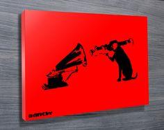 Banksy HMV Dog Missile