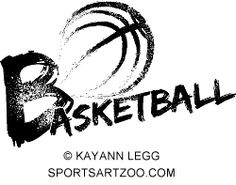 Basketball Grunge Streaks  by SportsArtZoo #basketball