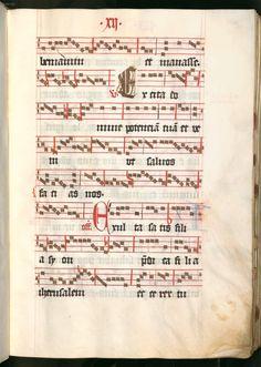 Missale, cum notis musicis et cum figuris literisque pictis Berthold Furtmeyr Clm 23032 [Regensburg], Ende 15. Jahrhundert Folio 12