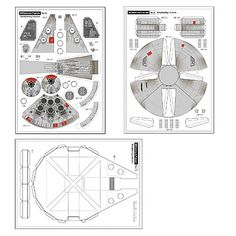 Star Wars Millenium Falcon Papercraft - DIY | Jorymon Techblog
