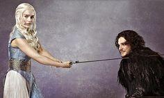 Daenerys e Jon