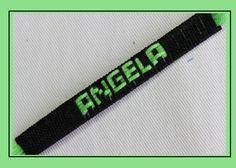 Como hace pulseras  en hilo con el nombre personalizadas [fácil] // puls...