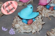 Check out our favorite Easter dessert ideas! We have cupcakes, cookies and even cute little edible birds nests!