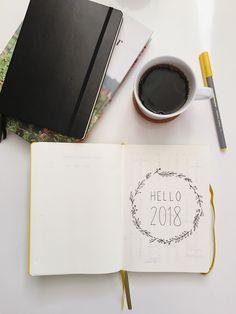 Bullet Journal: Hello 2018 | It's Sarah Ann