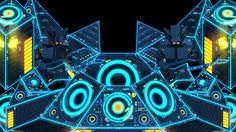 Projection mapped visuals for Excision's 3d stage. Music by Excision.