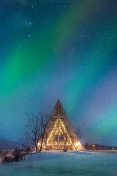 Arctic cathedral, Tromso, Norway. Architect. I want to go see this place one day.