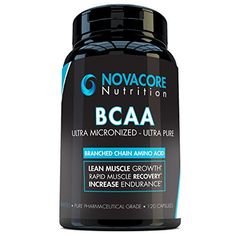 BCAA Capsules 1650mg  Branched Chain Amino Acids Supplement for Workout Recovery Optimal Fitness Performance Lean Muscle Growth and Better Endurance  Made in USA -- You can find more details by visiting the image link.
